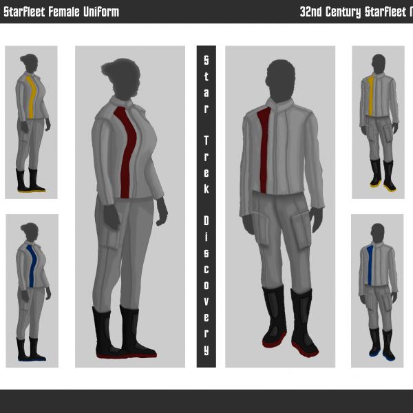 32nd-Century-Starfleet-Uniforms