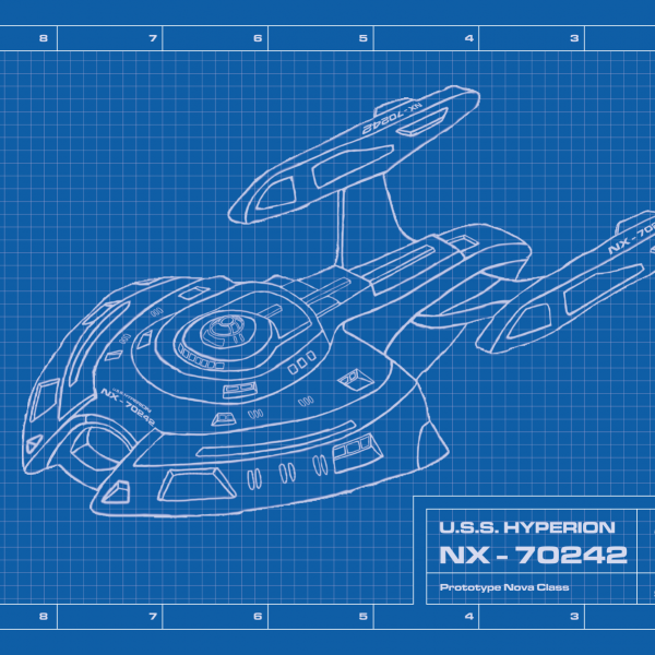U.S.S.-Hyperion-Blueprint