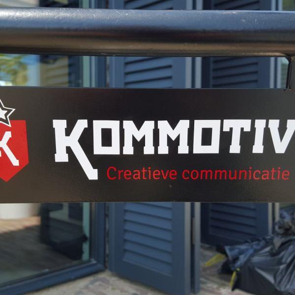 KOMMOTIV Bicycle Sign